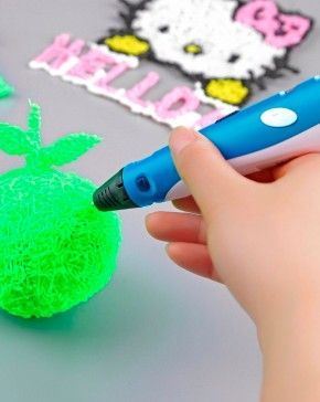 Scribbler 3D Printing Pen V3 - NEWEST MODEL - Gift idea for kids - Let your kids' creativity fly away with this amazing Scribbler 3D Printing Pen V3! Create unique and fantastic 3-D art straight out of your imagination. Perfect gift idea for kids! - $97.99 Maybe something for 3D Printer Chat?