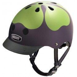 Sjov hjelm fra Nucase. Sikkerhed frem for alt - og så gør det ikke noget at man ser smart ud. #Cykelhjelm #Cykler #Hjelm #Familie #CykelFerie #Trafik #SikkerhedITrafikken #KørPænt #ModeTilDitHoved #SikkerhedFremForAlt #NyCykelhjelm
