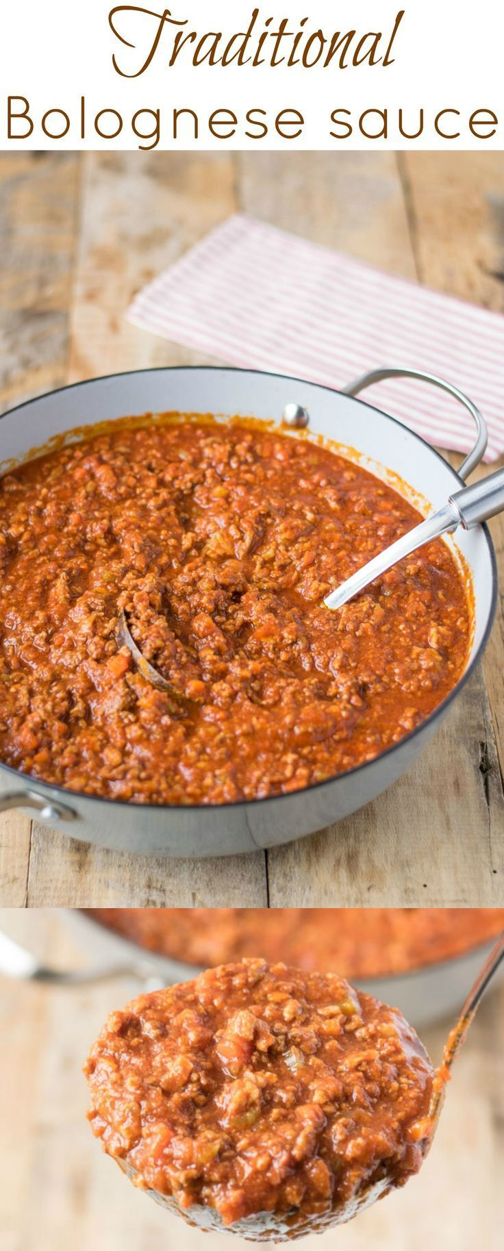 This traditional Bolognese sauce is made using all the authentic ingredients like beef, pork, fresh tomato purée, then cooked low and slow for hours to develop a rich, hearty taste.
