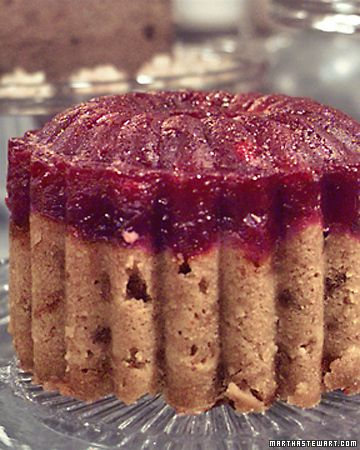Cranberry Steamed Pudding, omg that looks heavenly!