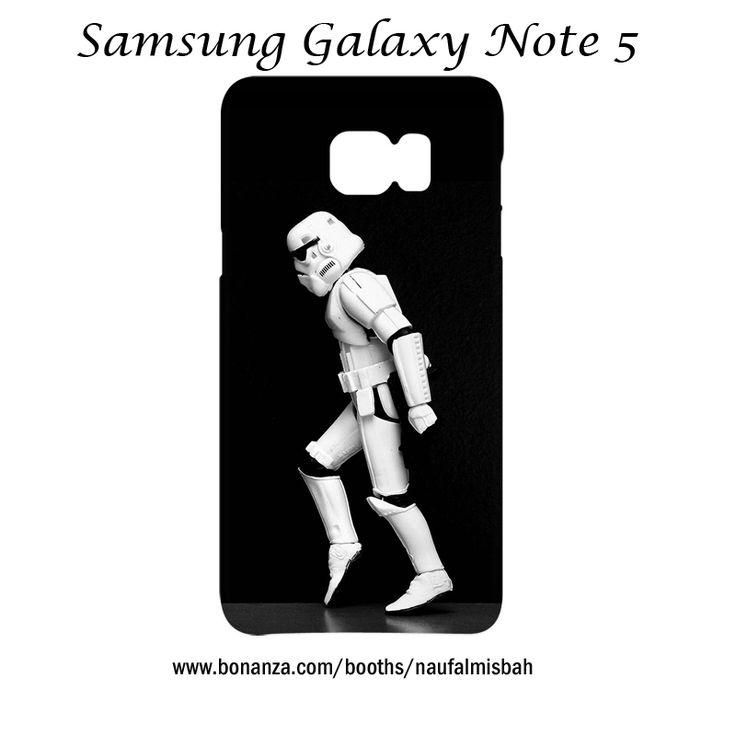 Star Wars Stormtrooper Moonwalk Samsung Galaxy Note 5 Case Cover Wrap Around