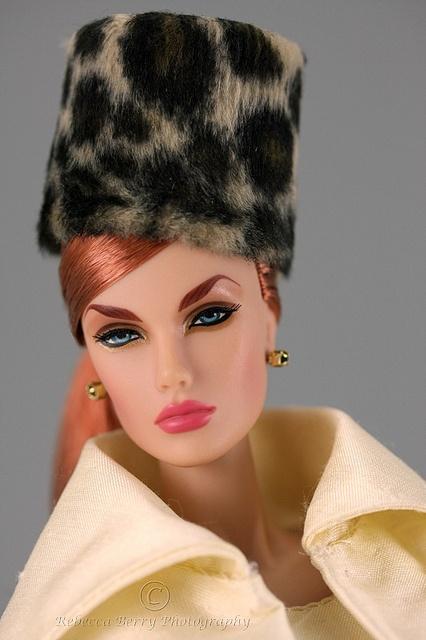 Dasha Inside the Fashion Doll studio for Bogue's Vogues Vendredi 1 by think_pink1265, via Flickr