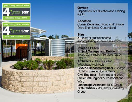 Bay View State School #greenschool #greenstar #greenbuilding