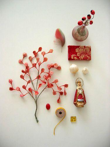 still life in red by lush bella, via Flickr