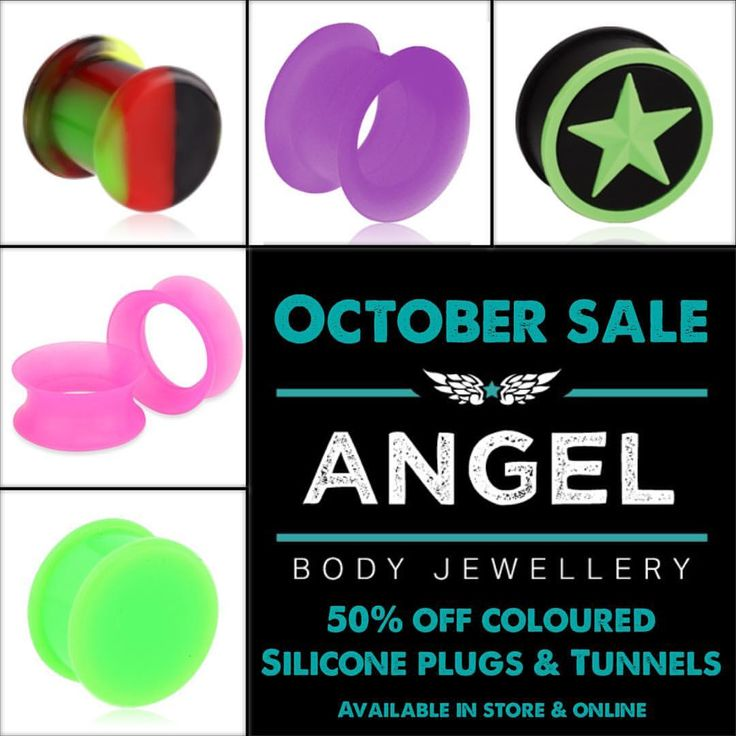 "9 Likes, 1 Comments - Angel Body Jewellery (@angelbodyjewellery) on Instagram: ""#sale #angelbodyjewellery #perthsmallbusiness #plugsandtunnels #silicone"""