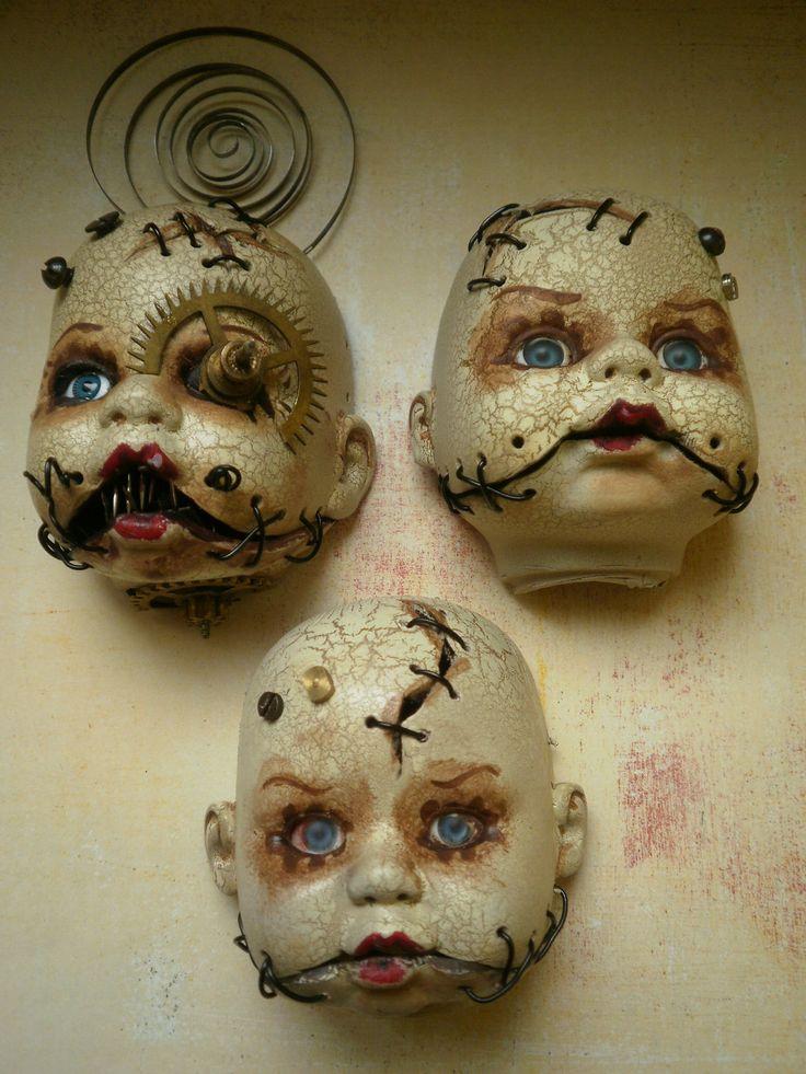 inspiration for a set of 'see no evil, speak no evil, hear no evil' dolls.