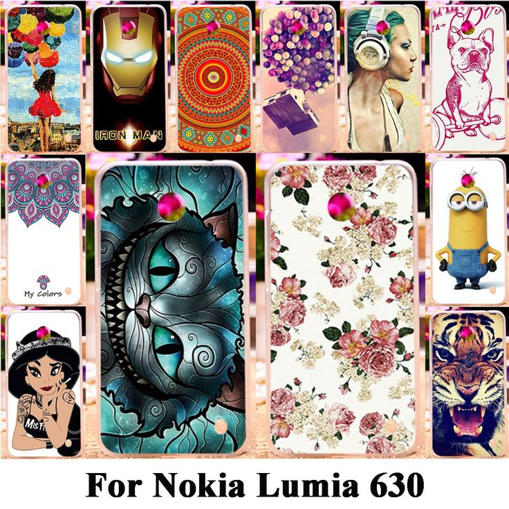 Soft Silicon Plastic Phone Case Cover For Nokia Lumia 630 DS Dual SIM RM-978 N630 3G RM-976 Housing Bag Shell For nokia n630 #Affiliate