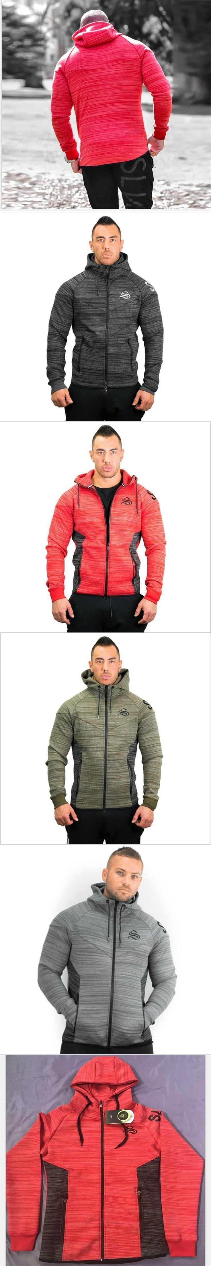 2018 Body Engineers Men's Muscle Gyms Winter Leisure Add thick male Hooded Cardigan Fitness Hoodies and Sweatshirt Jackets Coat