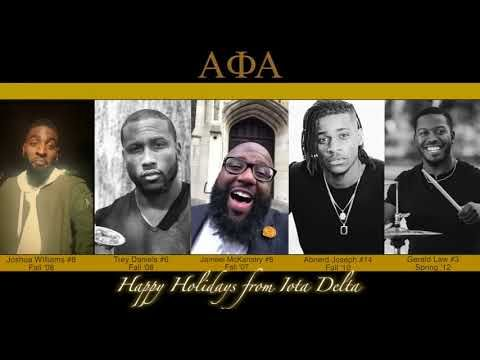 Black #Cosmopolitan Stop What You Are Doing and Watch These Brothers of Alpha Phi Alpha Sing This Christmas Song   #AlphaPhiAlpha, #CornellUniversity, #Education, #NationalPanHellenicCouncil, #NorthAmericanInterfraternityConference         The brothers of Alpha Phi Alpha at Florida State University can't be beat when it comes to displaying their Christmas cheer. Brothers who have crossed through the Iota Delta Chapter of Alpha Phi Alpha teamed up to perform a rendition