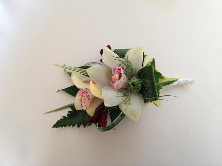 Orchids Corsage Chanan's Floral Events Signature xxx
