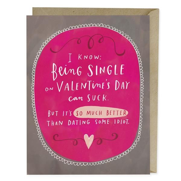 Dating Some Idiot Valentine Card | Greeting Cards | Emily McDowell Studio