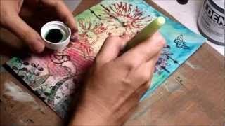 Mixed Media Journaling art videos