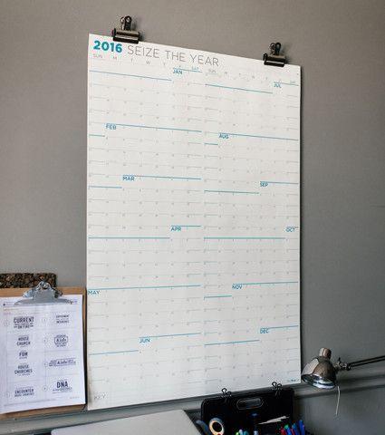 Best  Large Wall Calendar Ideas On   Large Desk