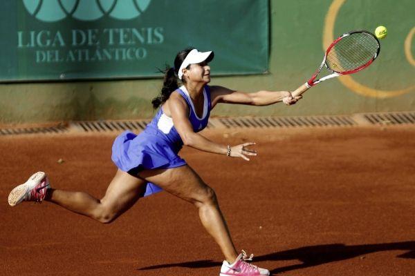 María Fernanda Herazo, campeona Mundial Juvenil de Tenis G1 en el 2015.