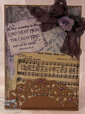 Hymn #3, How Great Thou ArtScrapbook Ideas, Cards Ideas, Scriptures Challenges, Art Cards, Christmas, Artsy Fartsy, Bible Verses, Challenges Today, Favorite Hymns