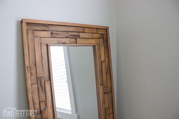Cheap full length mirror diy