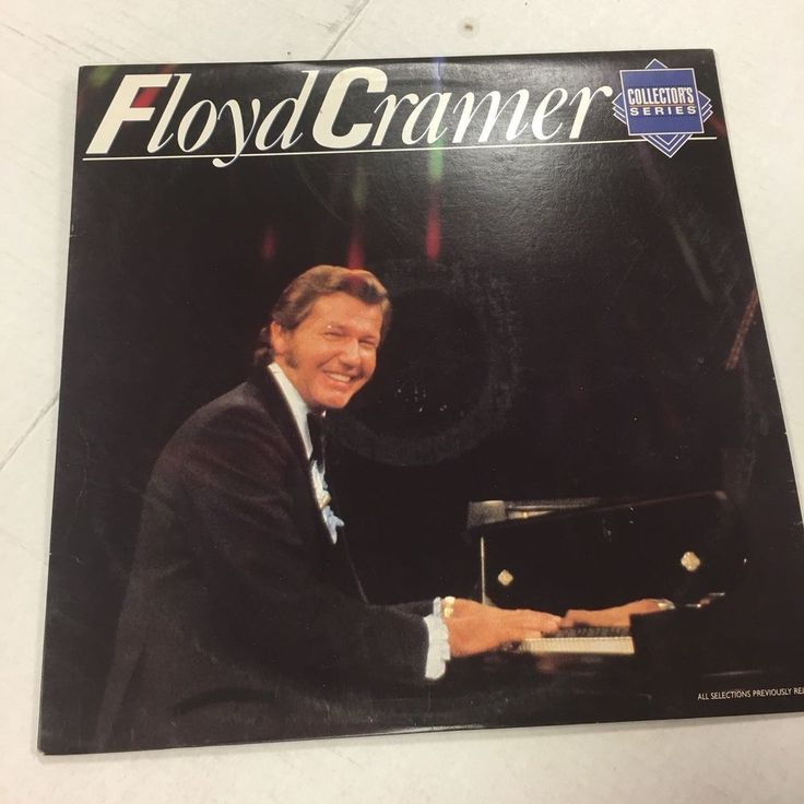 Floyd Cramer Collector's Series LP 1985 (RCA Records)