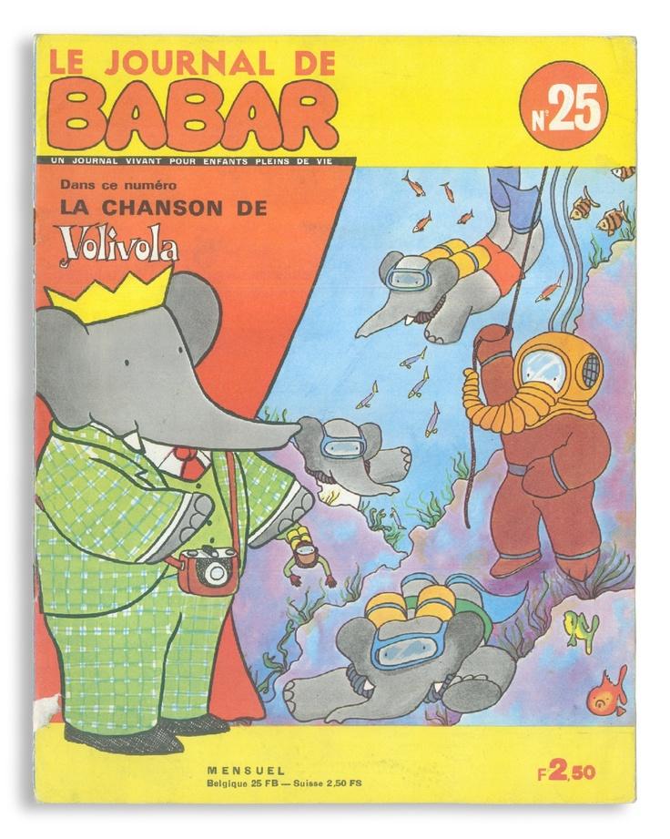 Fabuleux 426 best Babar images on Pinterest | Children's books, Book  ZP61