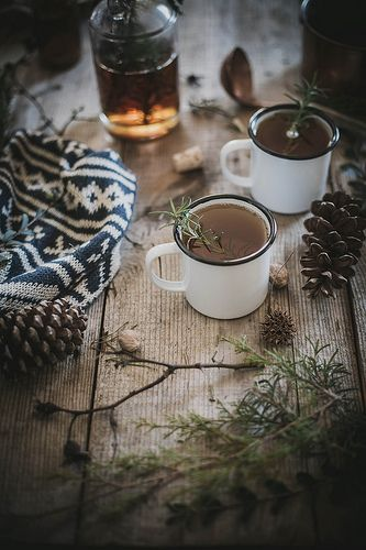 hot buttered fig + rosemary bourbon cider by Beth Kirby | {local milk}, via Flickr