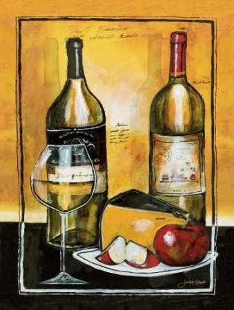 CUADROSTOCK.COM - Cuadro Wine Notes I / Jennifer Garant