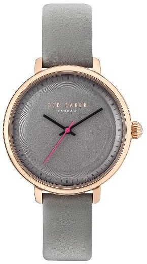 Women's Ted Baker London Isla Round Leather Strap Watch, 36Mm.   This sleek, monochrome watch ticks precise three-hand time.   #accessories #ootd #outfit #style #classic #classy
