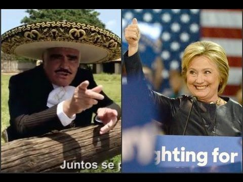 Vicente Fernández Le Hace Un Corrido A Hillary Clinton