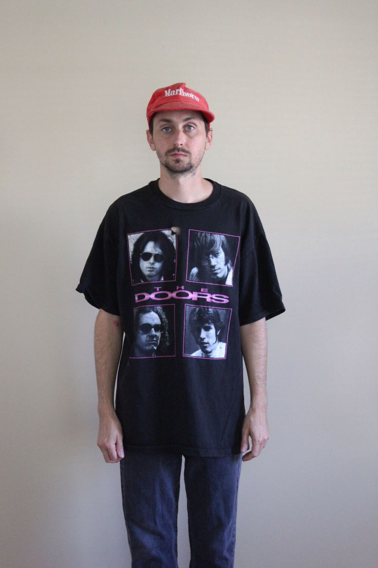 90s The Doors Shirt Mens Large by FiestaForever on Etsy https://www.etsy.com/listing/466651708/90s-the-doors-shirt-mens-large