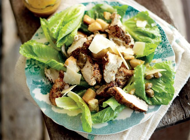 Jan Braai's cheeky chicken Caesar salad