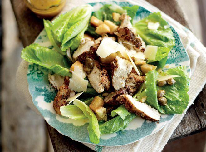 Jan Braai's cheeky chicken Caesar salad