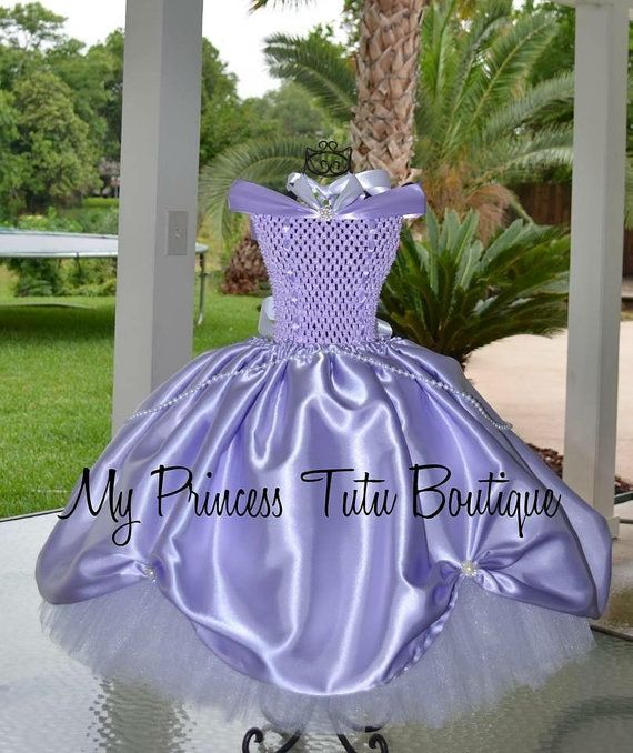 Sofiia the First tutu dress Sofia the by MyPrincessTutuBoutiq