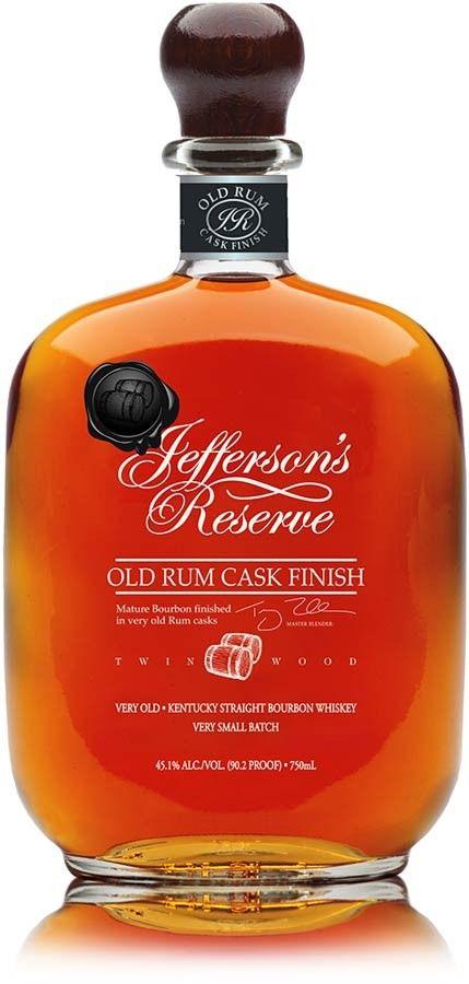 Jefferson's Reserve Old Rum Cask Finish Bourbon | @Caskers