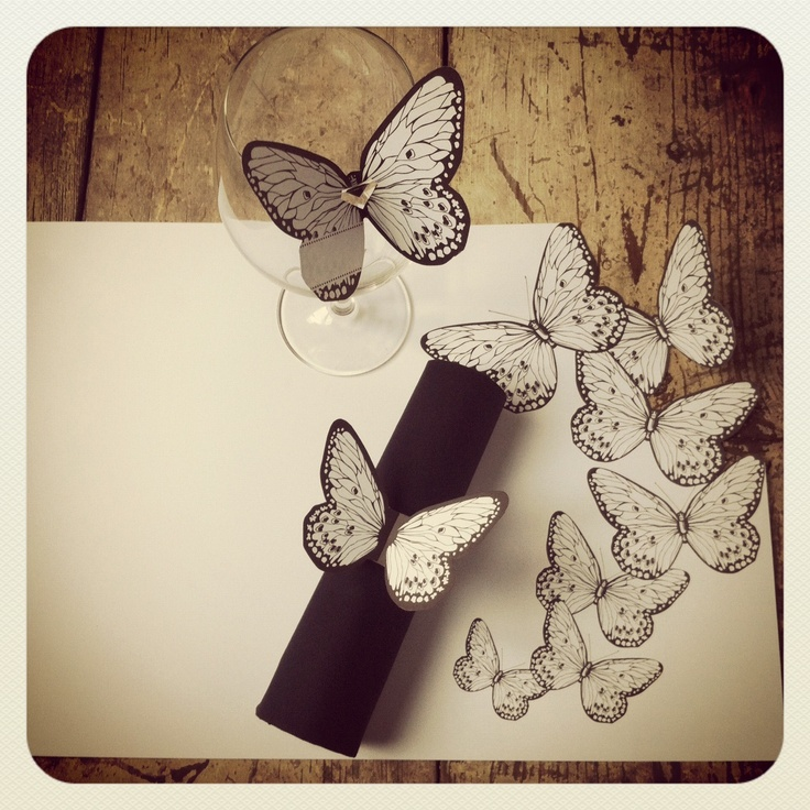 Butterfly - place setting