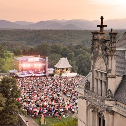 Summer concerts at biltmore in north carolina biltmore for Terrace house series