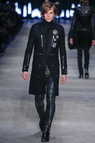 Diesel Black Gold Fall 2014 Menswear Collection Slideshow on Style.com