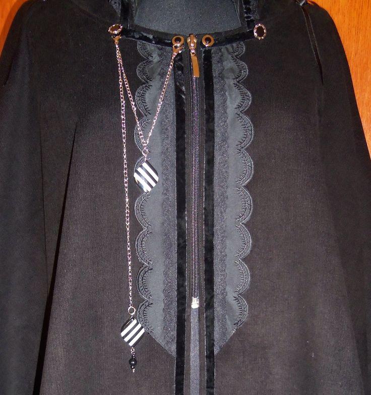 Ravendark Coven Designs: SABRA CAPE