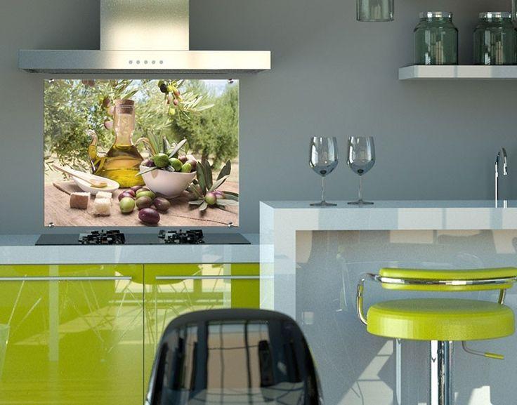 65 best Genusszone images on Pinterest Wall murals, Kaffee and - glasbilder küche spritzschutz