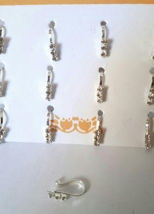 À vendre sur #vintedfrance ! http://www.vinted.fr/accessoires/autres-bijoux/52420294-faux-piercing-nez-argente
