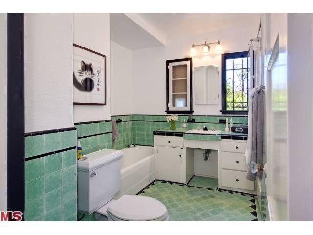 art deco bathroom tile google search