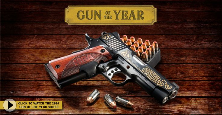 Learn about the 2015 Friends of NRA Gun of the Year in the video featuring this exclusive Kimber Pro Carry II 1911!