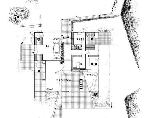 20 best plans 40 39 s images on pinterest architecture for Floor plan magazines