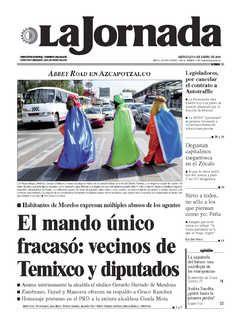 PREPARAN MINISTROS AVAL AL ACUEDUCTO INDEPENDENCIA QUE IMPUGNAN LOS YAQUIS..Portada de 2016/01/06. Seleccione para ir a esta edición.