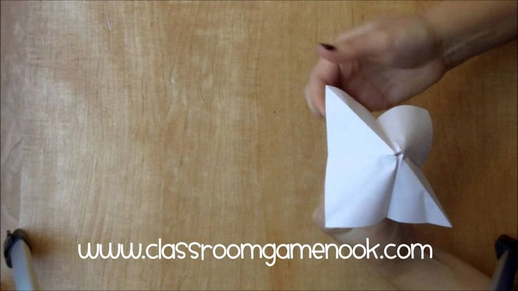 Chinese Fortune Teller Make-and-Take Game