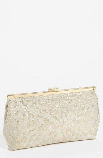 Nina Floral Brocade Clutch available at #Nordstrom. Cute!