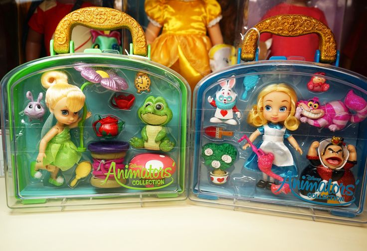 В НАЛИЧИИ 😍 Очаровательные мини куколки из серии 🎀Animators mini🎀 ☀️Размер кукол 13 см.🎀Набор аксессуаров в комплекте.🎀Все упакована в красивый чемоданчик, который удобно взять с собой…