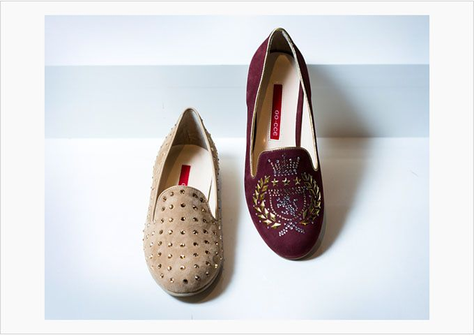 고급스러운 고세 플랫슈즈. luxury GO-CCE flat shoes. @현대백화점