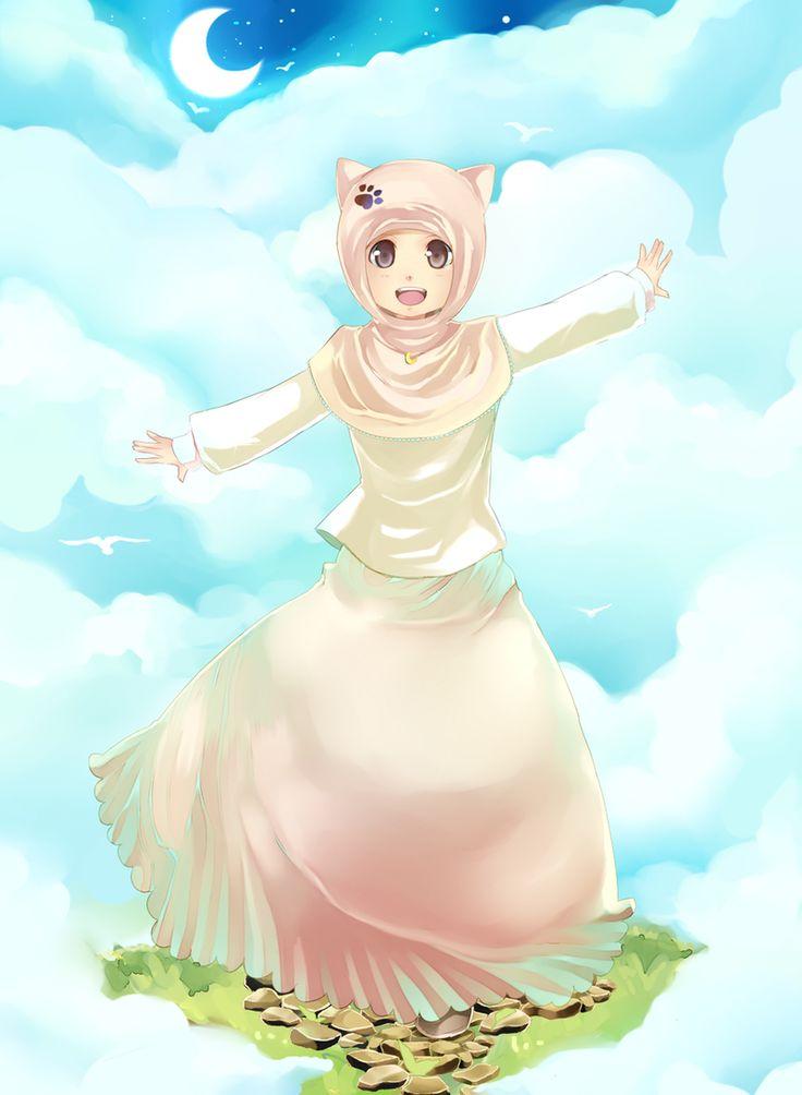 Islam-chan by Succubesje.deviantart.com on @DeviantArt