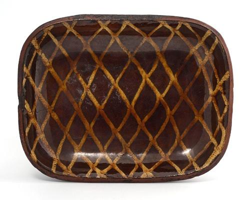 slipware dish ..mid 18th century