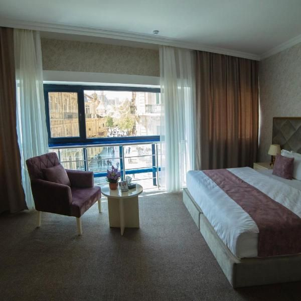 Salam Baku Hotel Sbh Set In The Sabayil District Of Baku Sbh Is 900 Metres From Maiden Tower Featuring A 24 Hour Front Desk Thi Baku Hotels Hotel Twins Room