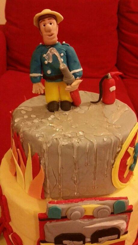 Torta di sam il pompiere