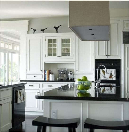 Grey Kitchen Cabinets With Black Appliances: 1000+ Ideas About Black Appliances On Pinterest